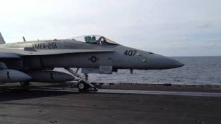 Download F18's Take Off from USS Enterprise Video