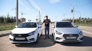 Download Lada Vesta против Hyundai Solaris. Anton Avtoman. Video
