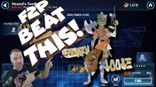 Download Beat the Hounds Tooth the F2P Way!!! star wars galaxy of heroes swgoh Video