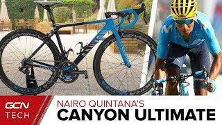 Download Nairo Quintana's Canyon Ultimate CF SLX Video