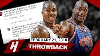 Download The Game OLD Shaquille O'Neal SCHOOLED Dwight Howard 2010.02.21 - EPIC BIG MEN Duel Highlights! Video