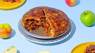 Download We Used Over 100 Apples To Make One SUPER Apple Pie Video