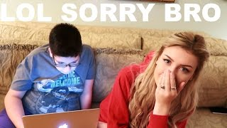 Download LITTLE BROTHER READS MY HATE COMMENTS Video