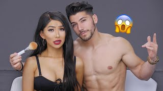 Download *NEW* Boyfriend Does My Makeup! Video