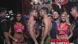 Download Pesaje Oficial: Canelo Alvarez 160lbs vs Gennady Golovkin 160lbs Video