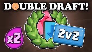 Download 2v2 Double Elixir Draft Challenge | Winning Twice! Video