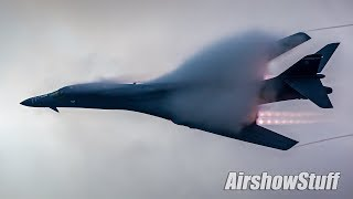 Download Vaporfest!! B-1 Twilight Afterburner Flybys - EAA AirVenture Oshkosh 2017 Video