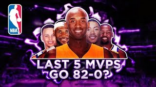 Download Could The Last 5 NBA MVPs go 82-0? Video