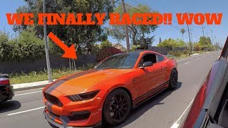 Download Challenger Hellcat Vs. Mustang Shelby GT350! WE FINALLY RACED!! Video
