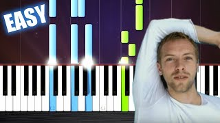 Download Coldplay - The Scientist - EASY Piano Tutorial by PlutaX Video