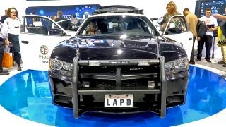 Download Futuristic Police Car - Loaded With Tech (CES 2013) Video