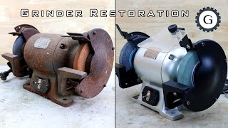 Download Electric Grinder Restoration | Hitachi Bench Grinder Video