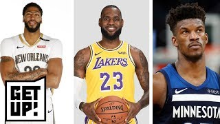 Download Jalen predicts Anthony Davis will be a Laker in 2019, Jimmy Butler traded to Heat | Get Up! | ESPN Video