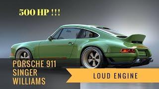 Download HOT!!! Porsche 911 Singer Williams 500HP | Loud Engine Video