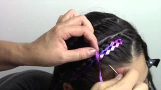 Download Peinado facil con cinta para niña!! Video