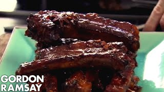 Download Sticky Pork Ribs - Gordon Ramsay Video