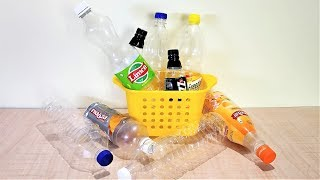 Download 10 IDEAS OF PLASTIC BOTTLES FOR EVERYDAY USES TO MAKE YOUR LIFE EASIER | PLASTIC BOTTLE CRAFT Video