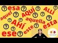 Download Spanisch lernen/Spanisch für Anfänger - ESTE, ESE , AQUEL... ich erkläre Dir den Unterschied ! Video