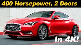 Download 2017 Infiniti Q60 / Q60 Red Sport First Drive Review - DETAILED in 4K UHD! Video