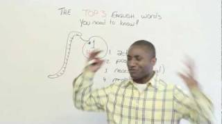 Download The Top 3 English words you need to know - HAVE Video