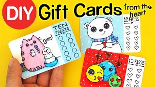 Download How to Make Gift Cards from the Heart - Fun DIY Holiday Craft Video
