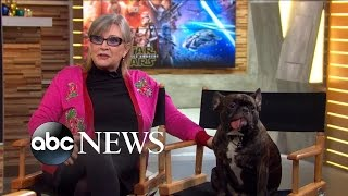 Download Carrie Fisher Interview with Gary on The Force Awakens Video