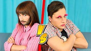 Download 12 Funny Couple Pranks / Prank Wars! Video