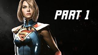 Download INJUSTICE 2 Walkthrough Part 1 - Chapter 1 GODFALL - Kara & Batman (Story Mode Let's Play) Video