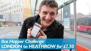 Download London to Heathrow for £1.50 (Bus Hopper Challenge) Video