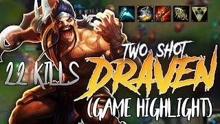 Download Gosu - 22 KILLS TWO SHOT DRAVEN (GAME HIGHLIGHT) Video