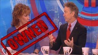 Download Rand Paul Educates The View's Joy Behar and Whoopi Goldberg on The View! - Rand Paul and Joy Behar Video