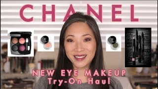 Download CHANEL - New Eye Makeup Try-On Haul! Video