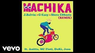 Download J. Balvin, G-Eazy, Sfera Ebbasta - Machika (Audio/Remix) ft. Anitta, MC Fioti, Duki, Jeon Video