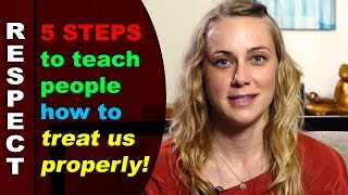Download Personal Boundaries: 5 ways to teach people how to treat us properly! Video