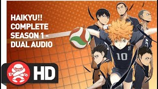 Download Haikyu Complete Season 1 - Official Trailer Video