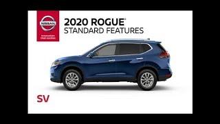 Download 2020 Nissan Rogue SV Walkaround & Review Video