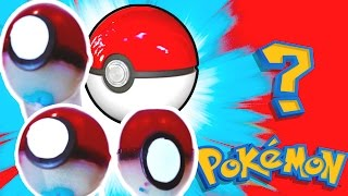 Download DIY JELLO GUMMY POKEBALLS! Mystery Pokemon Surprise Inside!! Video