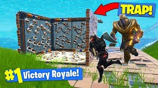 Download THANOS *TRAP* TROLLING In Fortnite Battle Royale! Video
