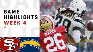 Download 49ers vs. Chargers Week 4 Highlights | NFL 2018 Video
