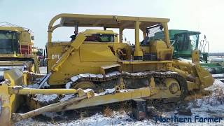 Download Starting The D8K Dozer Cold Start!!! Video