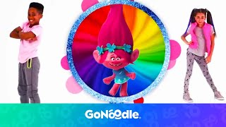 Download Trolls: Can't Stop The Feeling | GoNoodle Video