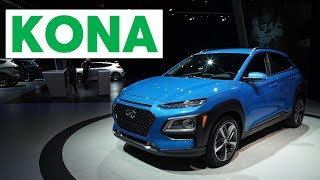 Download 2017 LA Auto Show: 2018 Hyundai Kona | Consumer Reports Video