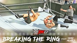Download WWE 2K17 Brock Lesnar vs Big Show | Ring Collapsed | PS4 Gameplay Video