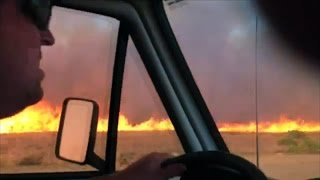 Download Father Saves Family From Raging Wildfire | WEATHER GONE VIRAL Video