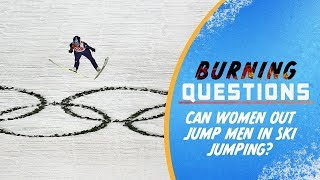 Download Can Women out jump Men in Ski Jumping? | Burning Questions Video