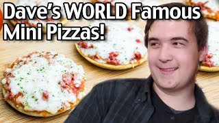 Download Dave's World Famous Mini Pizzas! How To Make Mini Pizzas From Scratch Video