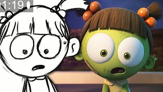 Download Spookiz Storyboard - Swing Jump Challenge | 스푸키즈 | Funny Cartoon | Kids Cartoons | Videos for Kids Video
