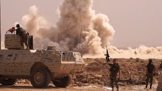 Download EXCLUSIVE - Iraq: On the road to Mosul with Iraqi, Kurdish forces Video