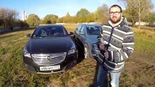 Download VW Passat Alltrack vs Opel Insignia Country Tourer 4x4 - Версус от ATDrive Video
