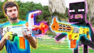 Download Nerf War: Nerf meets Minecraft 1 Video